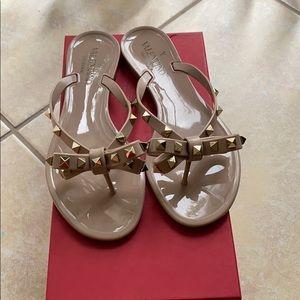 Valentino Shoes - Valentino rockstud jelly sandals